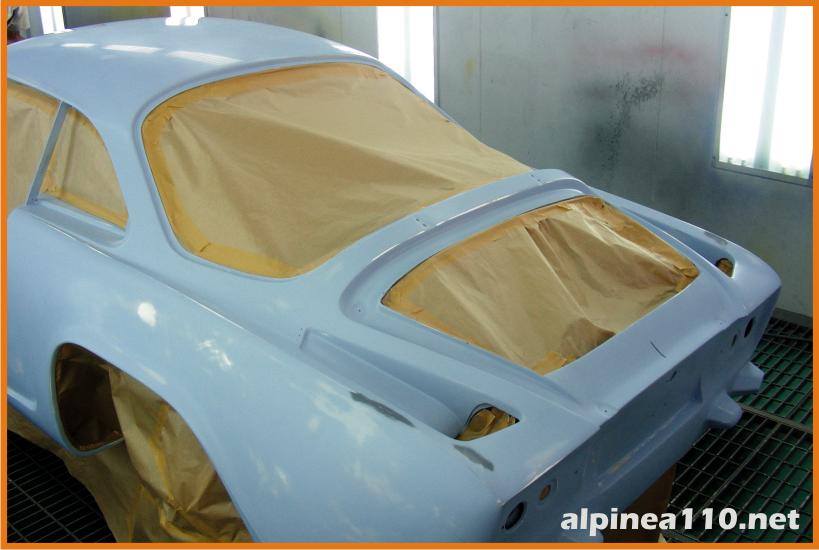 Renault alpine 110A Restoration