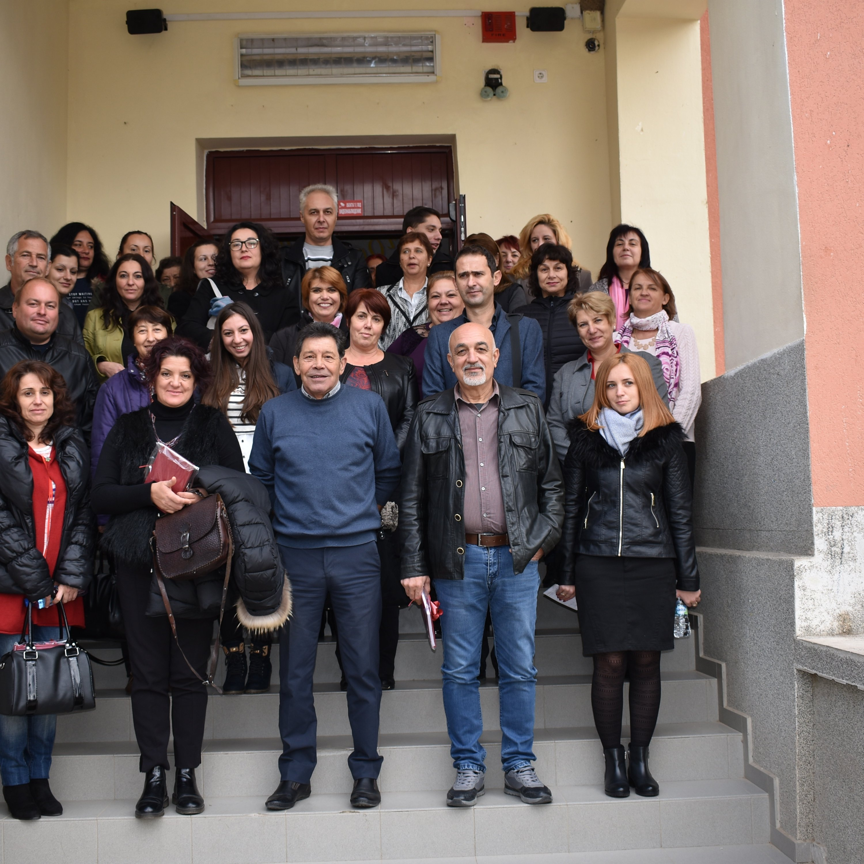"""Проект """"Мобилности за посещение на училища с кабинети за медиация и развита IT структура"""""""
