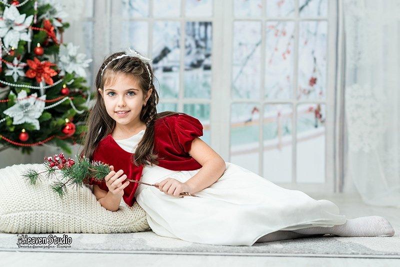 Детски коледни фотосесии в Пловдив