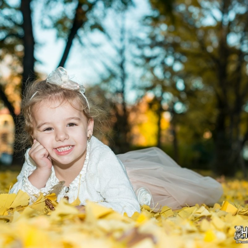 Есенна фотосесия в парка