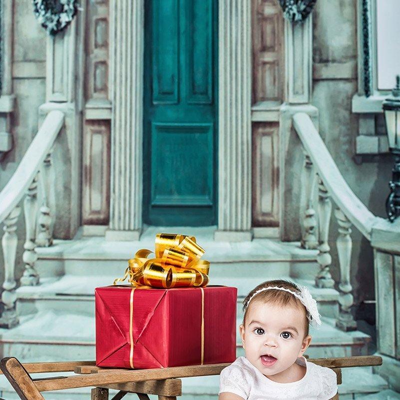 Коледна фотосесия на Катерина