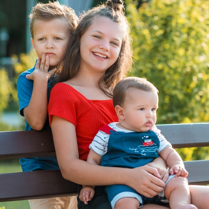 Семейна фотосесия в парка