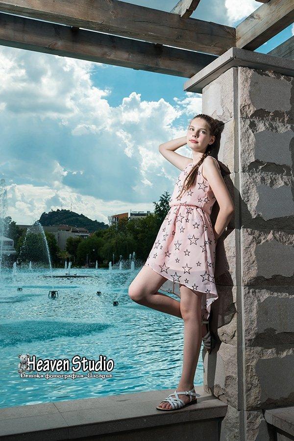 Фотосесия на пеещите фонтани в Пловдив