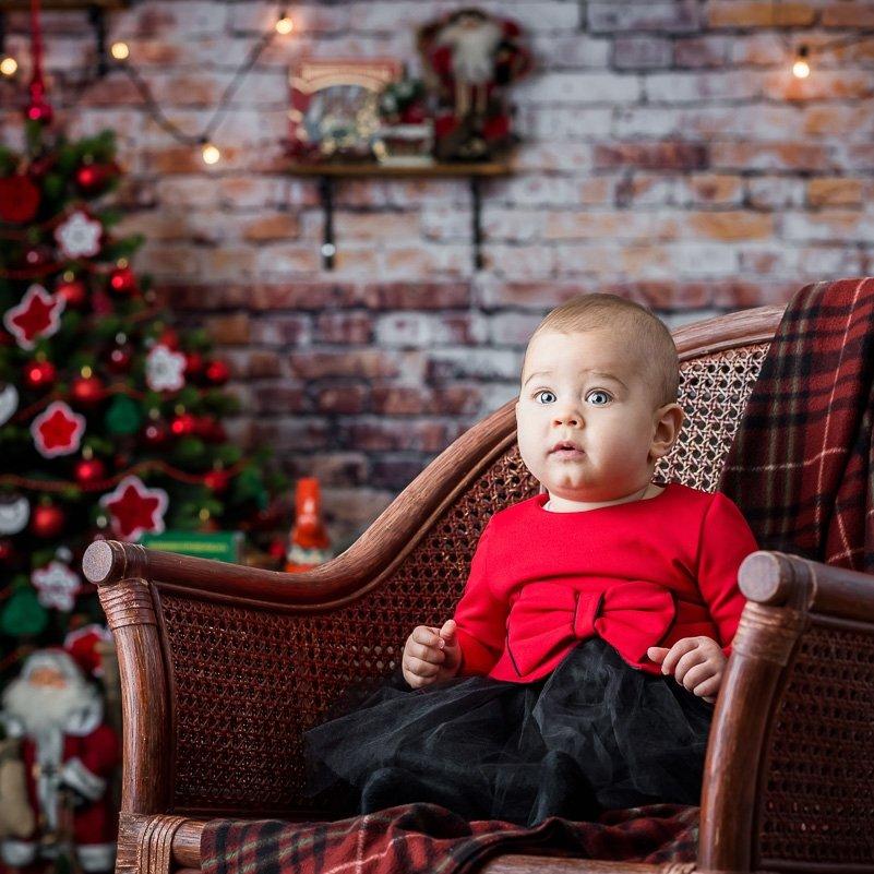 Коледна фотосесия на Елеонора