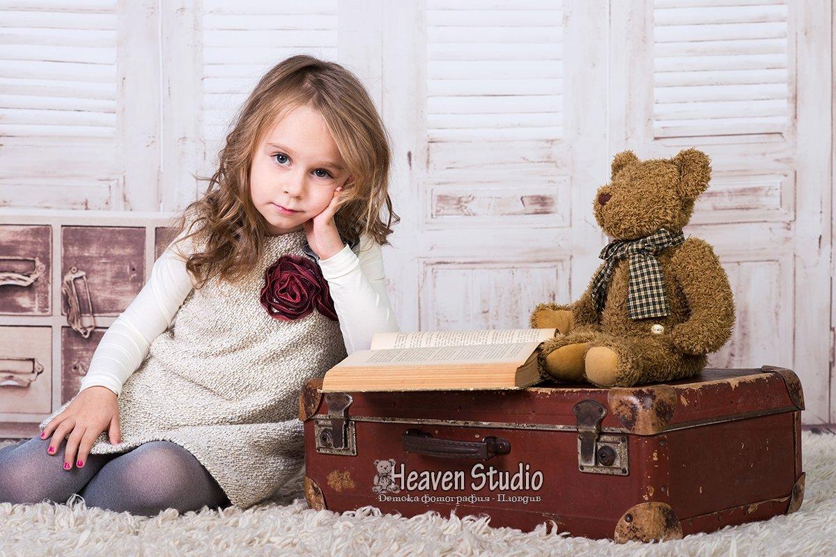 Детски фотосесии за деца от 2 до 5 години