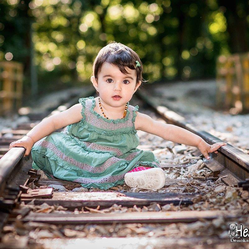 Детски фотосесия на открито