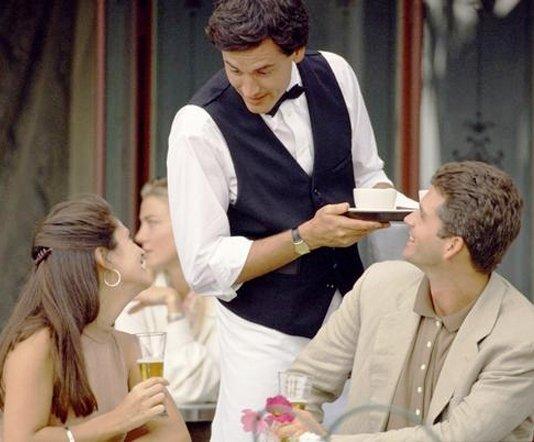 Сервитьорът - не подценявайте тази професия!