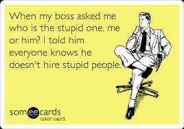 Как твоя шеф оценява работата ти
