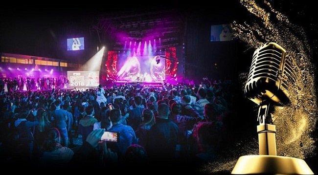 Звездите на българската поп музика на сцената на Античния театър в Пловдив на 4 юли