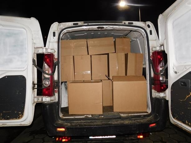 Криминалисти на ОДМВР-Габрово иззеха голямо количество контрабандни цигари