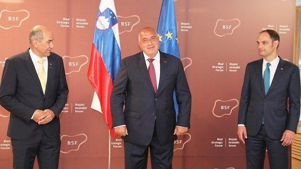 Бойко Борисов пристигна в Словения