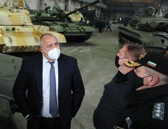 Показаха  прототипа за модернизация на танковете Т-72