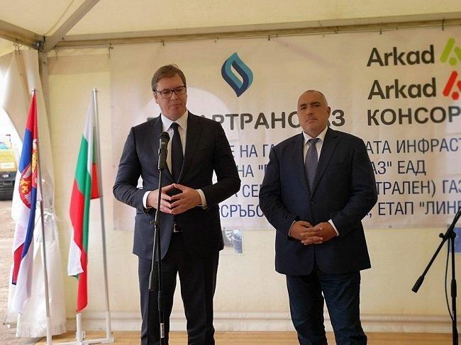 """Премиерът Борисов: Работим на пълни обороти за реализацията на АМ """"Европа"""" и """"Балкански поток"""""""