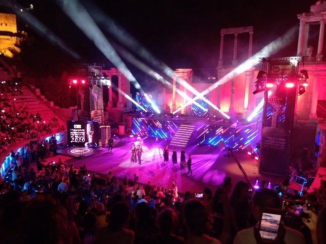 Блестяща церемония по връчване на наградите на БГ радио на Античния театър в Пловдив
