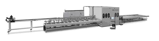 Автоматична линия за алуминиеви профили